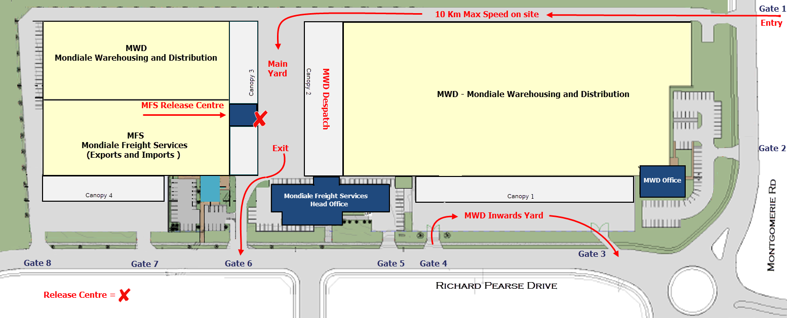 Site Plan / Map for Mondiale, Auckland