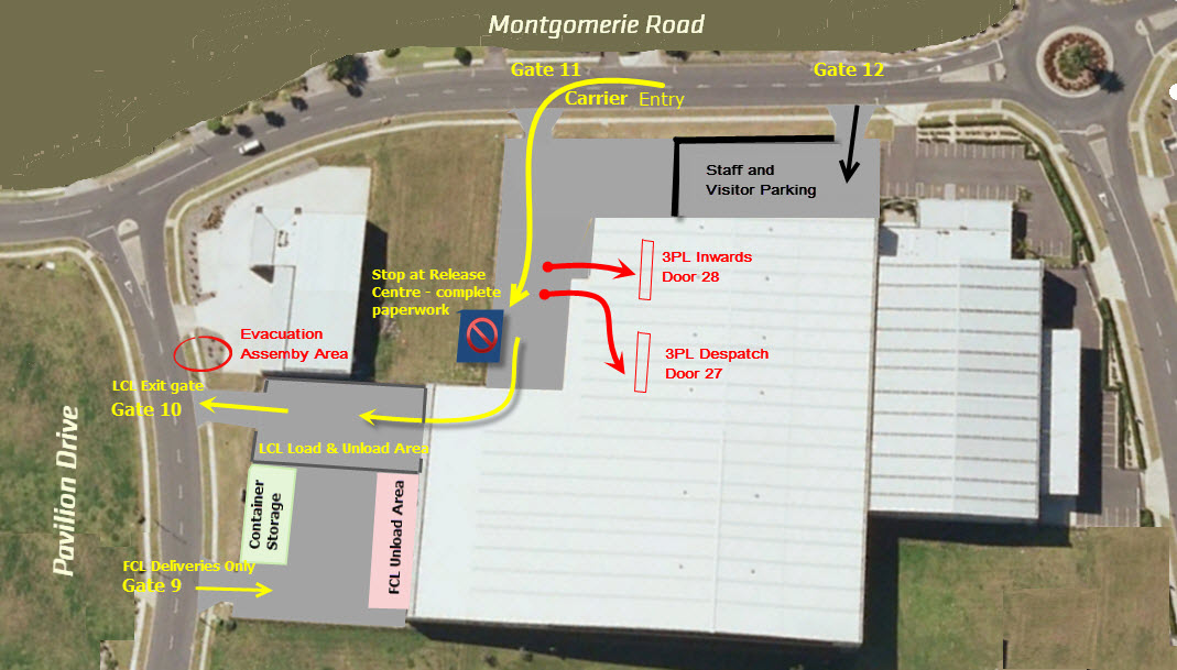 Site Plan Map for Mondiale at 94 Montgomerie Rd, Auckland